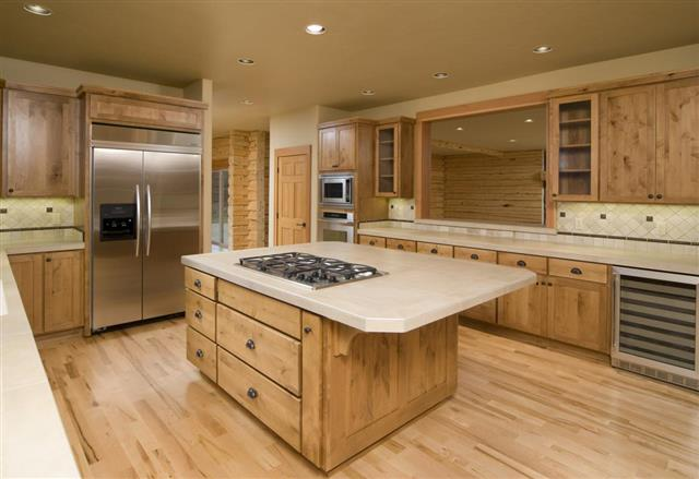 Types Of Pine Kitchen Cabinets