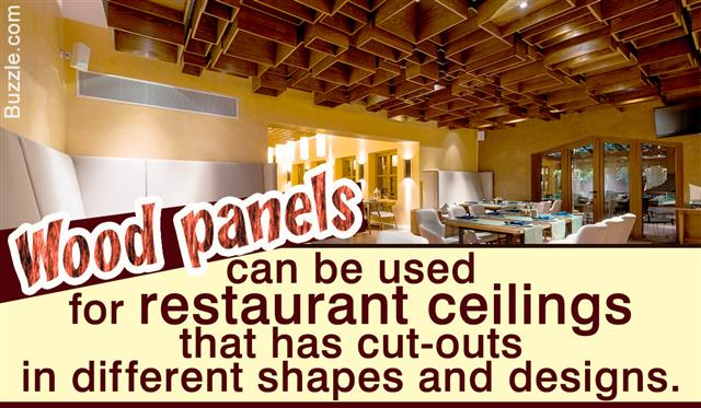 Ceiling Designs For Restaurants