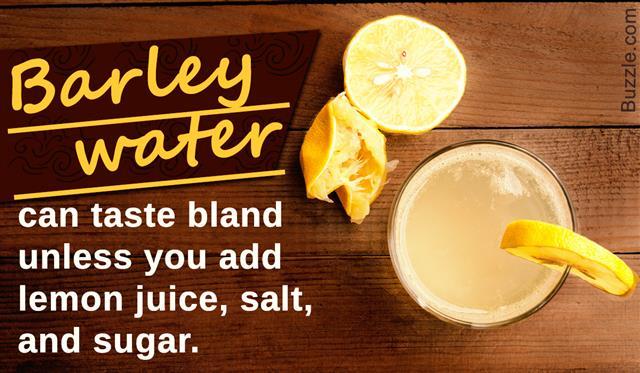 How To Make Barley Water At Home