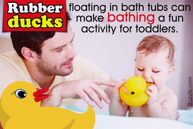 Rubber Duck Bathroom Decor