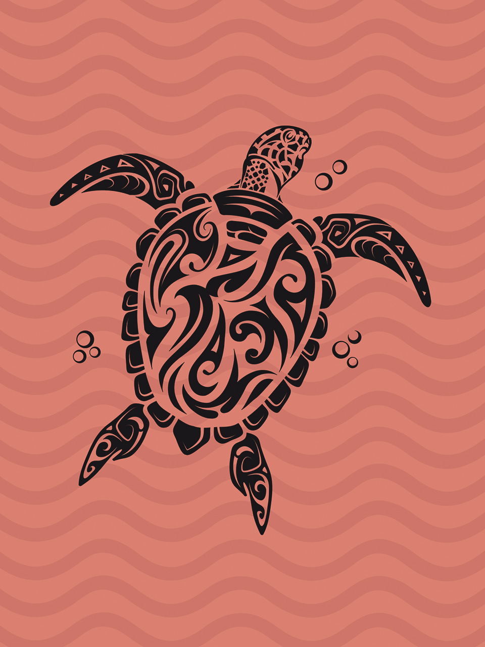 Easy Instructions To Draw A Sea Turtle